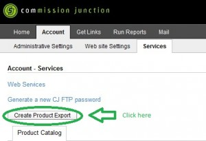 Create Product Export Datafeed File From CJ.com